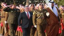 أمير قطر في زيارة رسمية للأردن ( Getty)