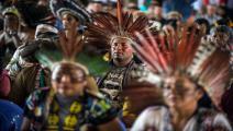 السكان الأصليين لغابات الأمازون المطيرة (أرنستو بينافيدس/فرانس برس)