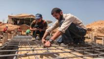 فلسطين/اقتصاد غزة/إنشاءات في غزة/10-11-2015 (العربي الجديد/عبد الحكيم أبو رياش)