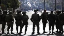 قوات الاحتلال في القدس(Getty)