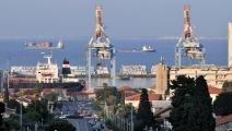 ميناء حيفا فلسطين غيتي