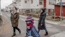 لاجئون في السويد - مجتمع