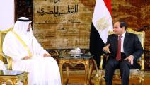 مصر/سياسة/بن زايد والسيسي/(الأناضول)