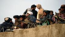 أفغانستان/عناصر طالبان في ولاية فراه/سياسة/جافد تانفير/فرانس برس