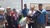 جلسات الرصد الفلكي غزة (العربي الجديد)