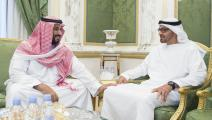 محمد بن سلمان ومحمد بن زايد( بندر الجالود/ الأناضول)