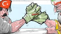 كاريكاتير ايران تركيا / حجاج
