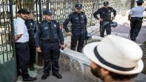 أوقفت الشرطة المغربية عددا من المتهمين (فاضل سنة/فرانس برس)