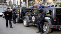 الشرطة المصرية(فرانس برس)
