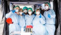 أطباء/كورونا/ماسيمو بيرتوليني/Getty
