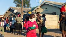 الأطفال/الفقر/كورونا/أفريقيا/جيكساي نيكيزانا/فرانس برس