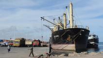 الصومال ميناء مقديشو