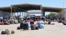 عودة مئات العالقين الليبيين (فتحي نصري/فرانس برس)