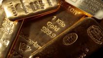 الذهب يستفيد من الاضطرابات بوصفه ملاذا آمناً (فرانس برس)