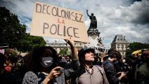 تظاهرة ضد العنصرية في فرنسا 1 - مجتمع