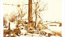 لوحات للفنان جون نيوكومب - ملحق الثقافة