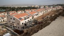 الاستيطان الإسرائيلي/المستوطنات الإسرائيلية/جاك غويز/فرانس برس