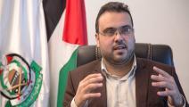 """المتحدث باسم حركة """"حماس"""" حازم قاسم/تويتر"""