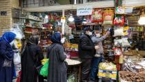 أسواق إيران مكتظة في رمضان (عطا كناري/فرانس برس)