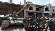 قوات النظام السوري-سياسة-Getty