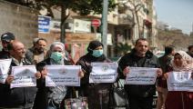 كورونا يهدد حياة الأسرى الفلسطينيين (علي جاد الله/الأناضول)