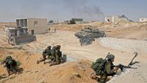 إسرائيل/تدريبات/الجيش الإسرائيلي/مناحم كاهانا/فرانس برس