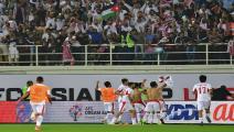 بطولة لآسيا/فوز منتخب الأردن/AFP