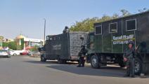 اعتقلت قوات الشرطة المصرية عشرات المحتجين (خالد دسوقي/فرانس برس)
