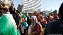 متظاهرات في الجزائر- العربي الجديد