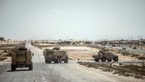 سياسة/الجيش المصري في سيناء/(خالد دسوقي/فرانس برس)