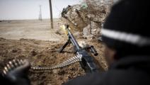 ليبيا/سياسة/مقاتلون أجانب/(ماركو لونغاري/فرانس برس)