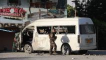 """مقتل صحافي وسائق من محطة """"خورشيد"""" بانفجار في كابولSTR/AFP"""