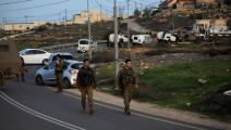 قوات الاحتلال الإسرائيلي/عملية طعن نابلس/سياسة/مأمون وزوز/الأناضول