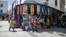 أسواق تونس (ياسين غادي/ فرانس برس)