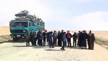 حصار مخيم الركبان يجبر النازحين على الخروج(كونستانتين ماتشولسكي/ Getty)