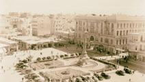 ساحة المرجة في دمشق 1920 (Getty)- القسم الثقافي