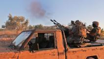 إدلب/ قوات المعارضة السورية(Getty)