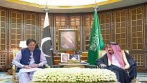 عمران خان/العاهل السعودي-سياسة-الأناضول