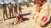 إزالة ألغام في البصرة - العراق - مجتمع