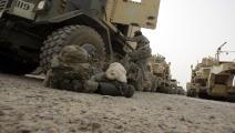سياسة/القوات الأميركية في العراق/(علي السعدي/فرانس برس)