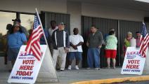 الولايات المتحدة/التصويت المبكر بانتخابات الرئاسة/سياسة/جو رايديل/ Getty
