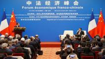 الصين ماكرون غيتي