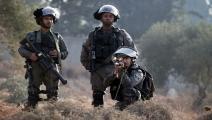 جيش الاحتلال الإسرائيلي/نابلس/جعفر أشتية/فرانس برس
