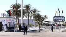 الحدود التونسية الليبية (محمود تركيا/فرانس برس)