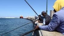ليبيون وصيد سمك - ليبيا - مجتمع