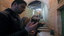 الحرم الإبراهيمي/فلسطين/فرانس برس