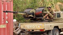 قوات حكومة الوفاق جنوب طرابلس-فرانس برس