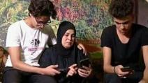 والدة المجني عليه محمود البنا (تويتر)