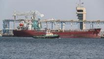 بواخر الخليج ميناء الفجيرة فرانس برس 13مايو2019