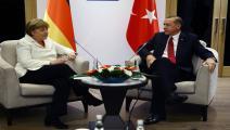 ألمانيا/سياسة/أردوغان وميركل/(كايهان أوزر/الأناضول)